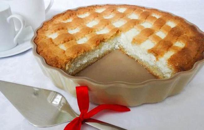 пирог из песочного теста с творогом пошаговый рецепт с фото