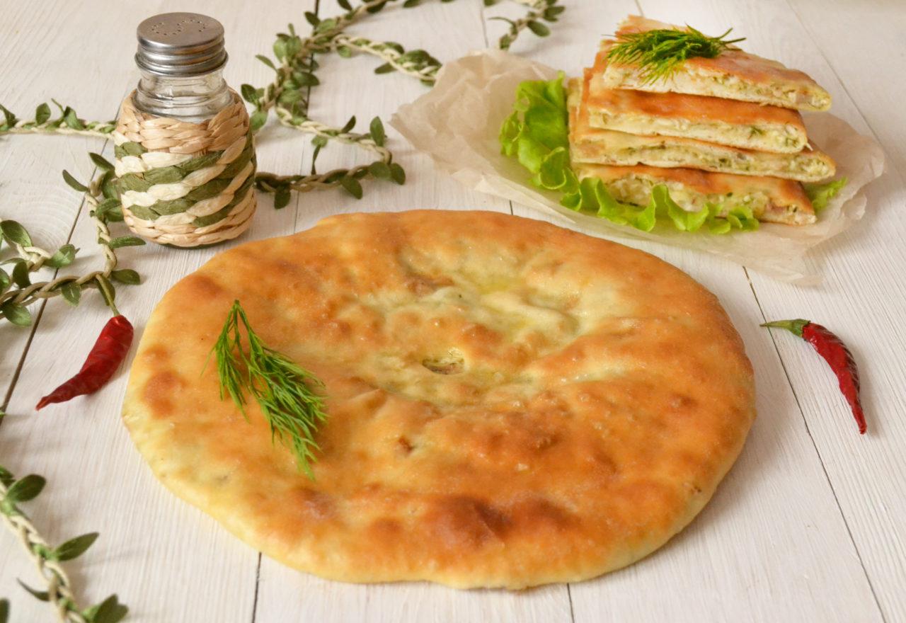 Осетинские пироги с курицей рецепт пошагово в