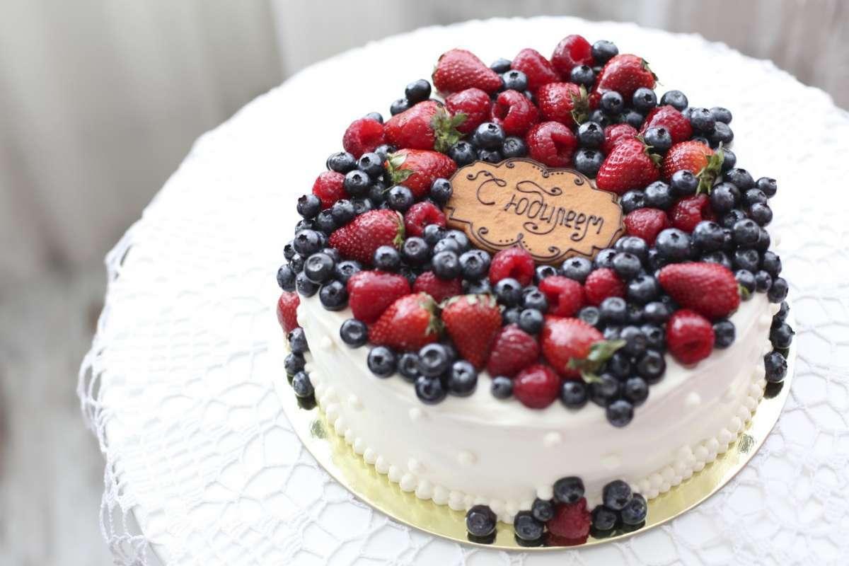 Украсить торт ягодами своими руками фото фото 434