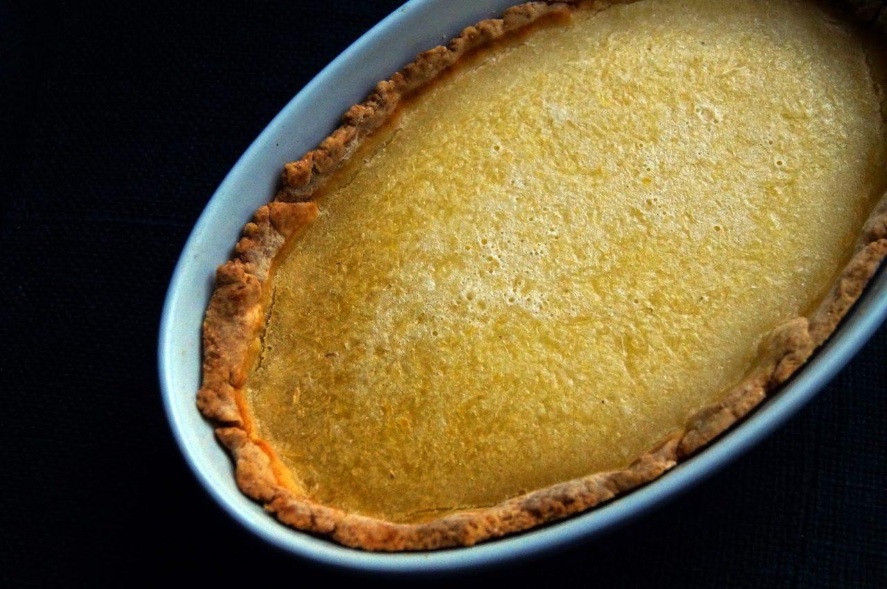 Пирог с начинкой из сока лимона и лайма - рецепт пошаговый с фото