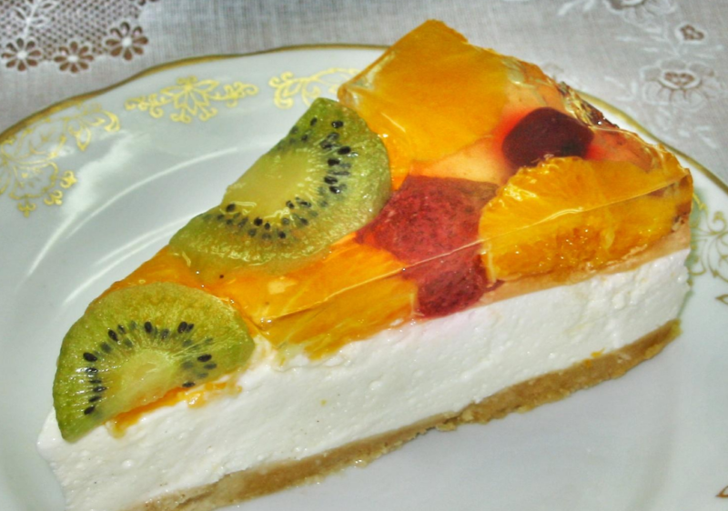 Торт из целых фруктов || Торт из целых фруктов