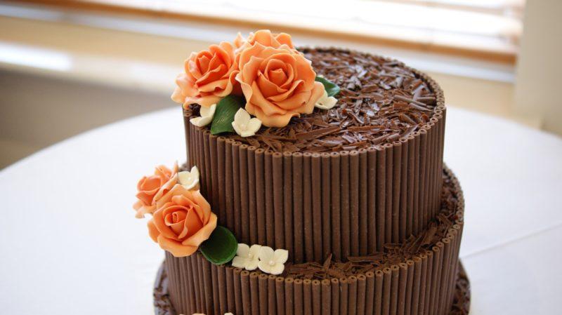 Украшение свадебного торта в домашних условиях