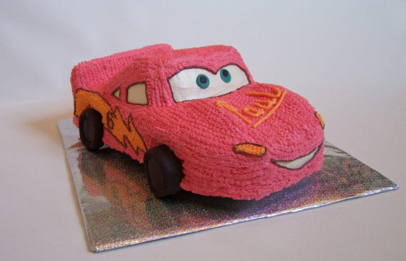 Торт Машина без мастики