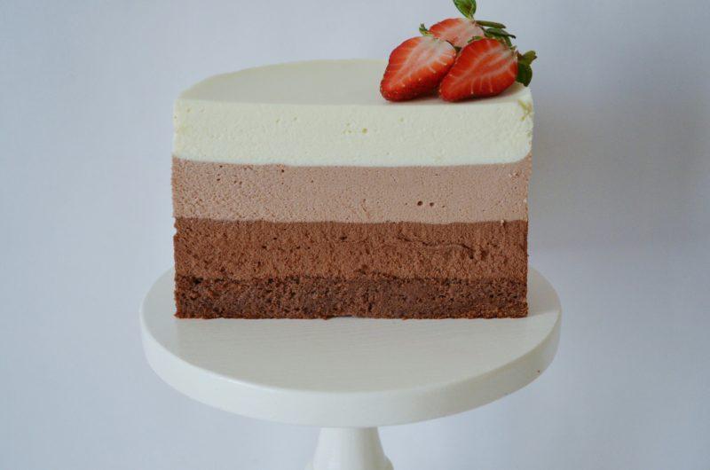 Торт Три шоколада классический