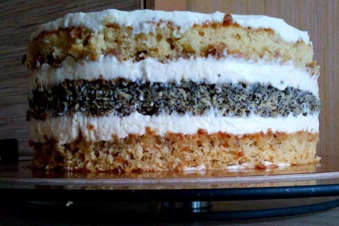 Торт Дамский каприз в мультиварке