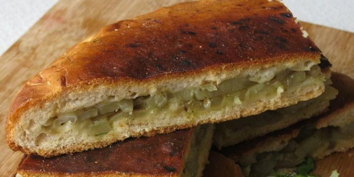 Ленивый пирог с картофелем на скорую руку