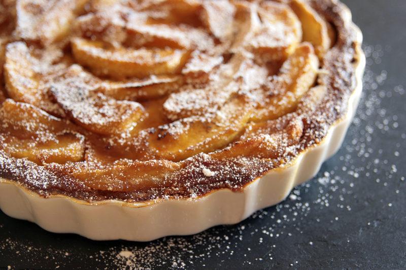 Яблочный тарт от Джейми Оливера