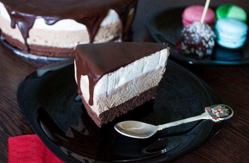 Торт Три шоколада от Энди Шефа