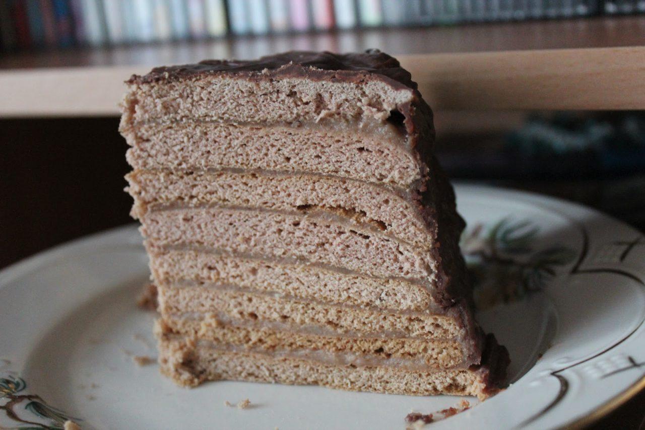 Торт Дамский каприз с шоколадным вкусом