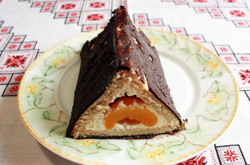 Торт «Домик» для детей
