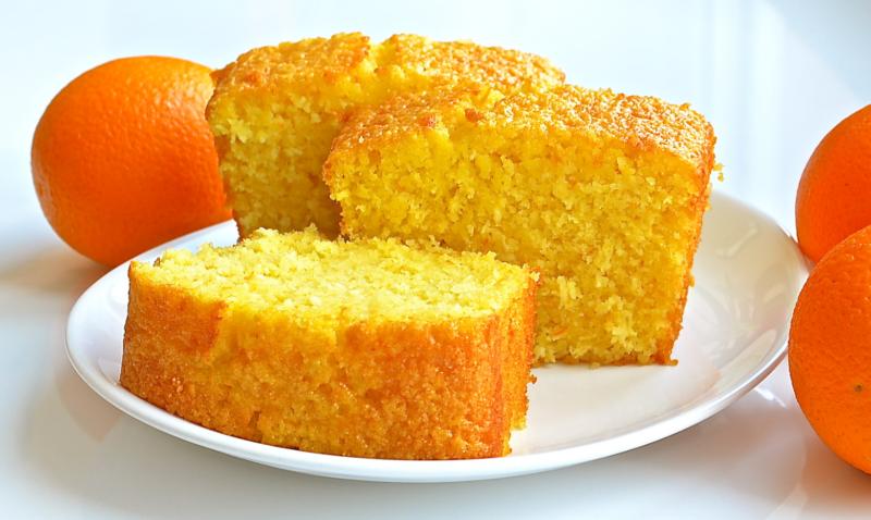 Морковный кекс с цитрусовыми нотками