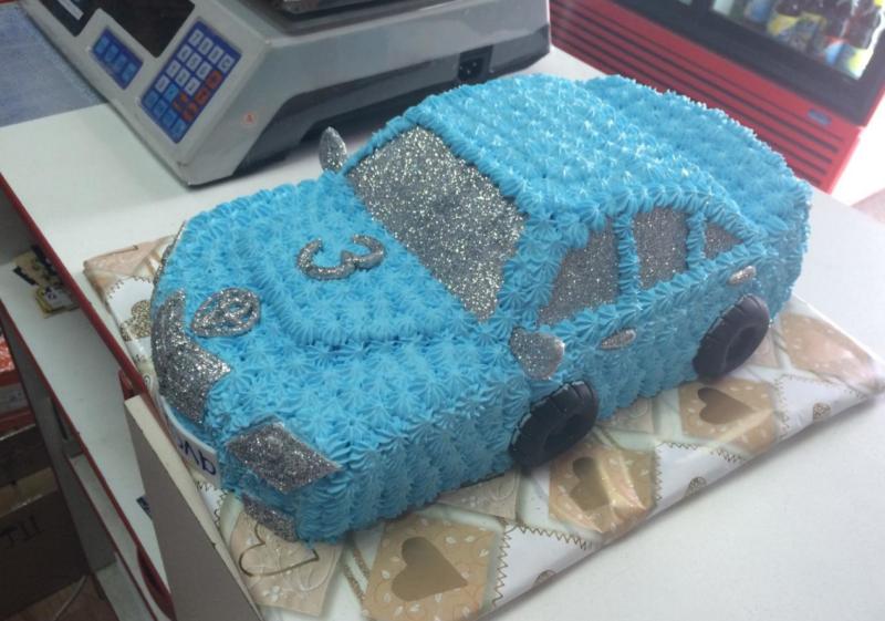Кремовый десерт для торта «Машина»