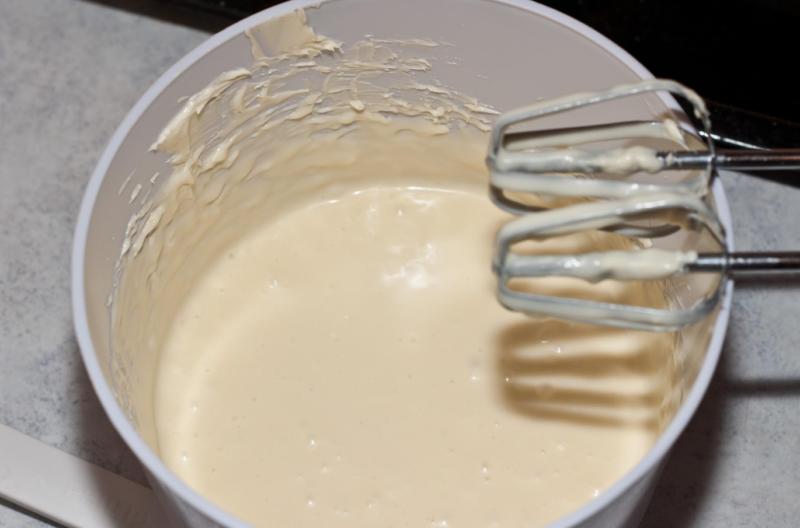 Манный крем со сгущенным молоком