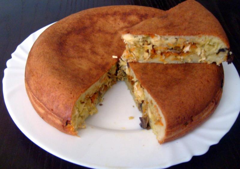 Как испечь пирог с рыбой в мультиварке