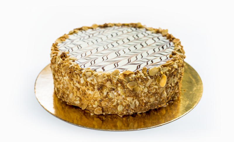 Торт Эстерхази с грецкими орехами
