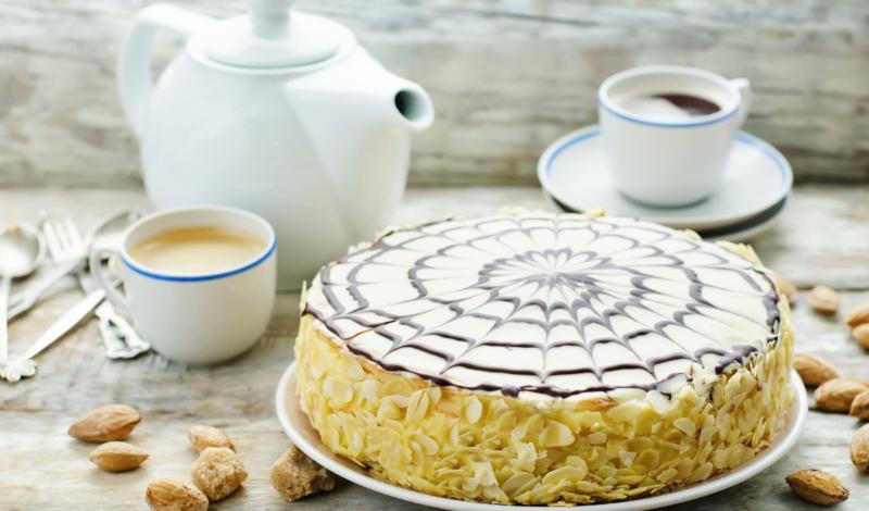 Пошаговое приготовление торта Эстерхази