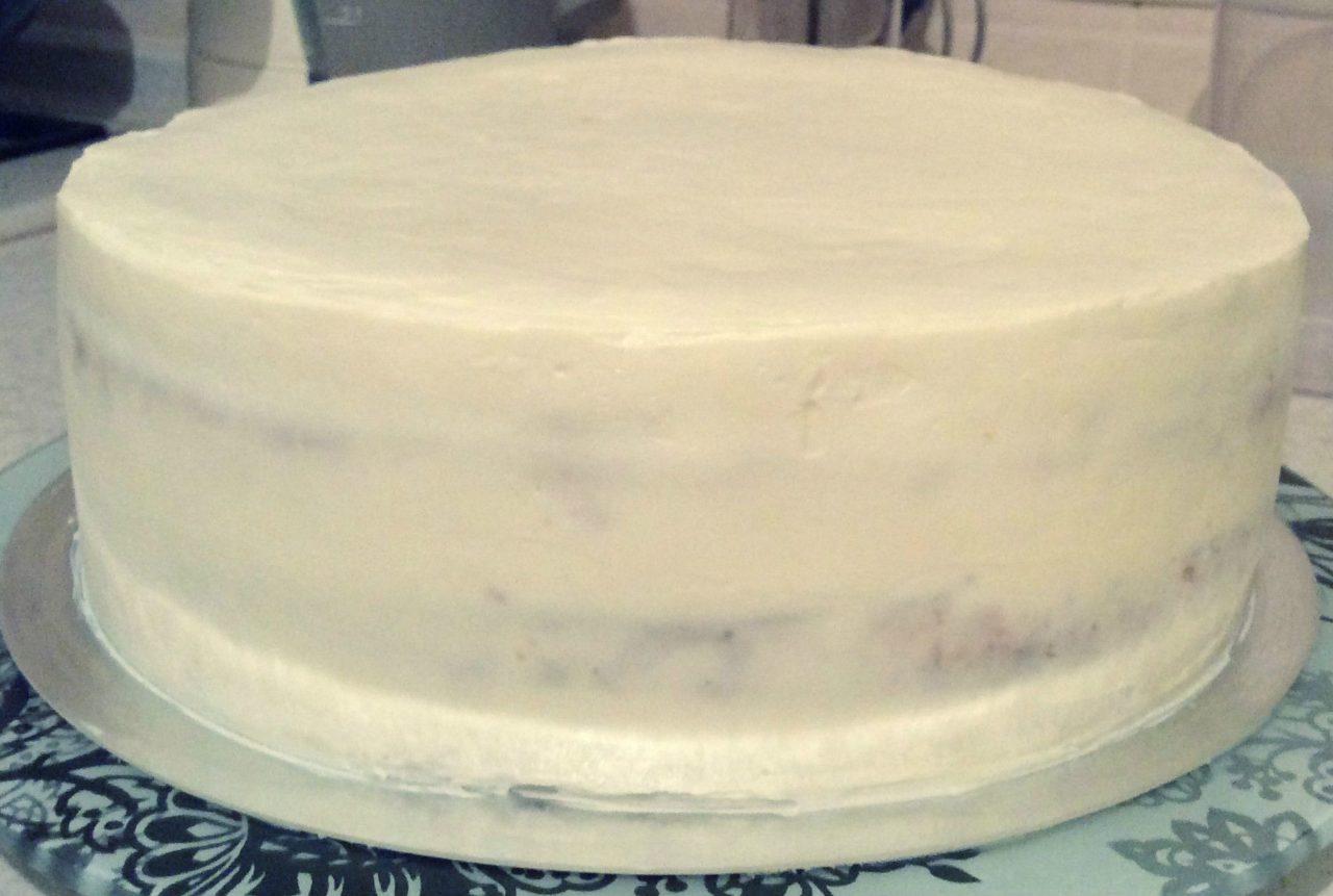 Итальянский крем для выравнивания торта