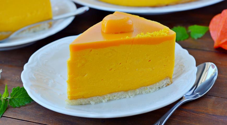 Десерт с муссом из тыквы
