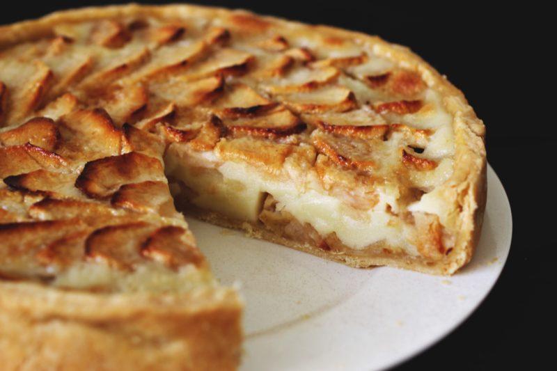 Яблочный тарт – традиционная французская выпечка