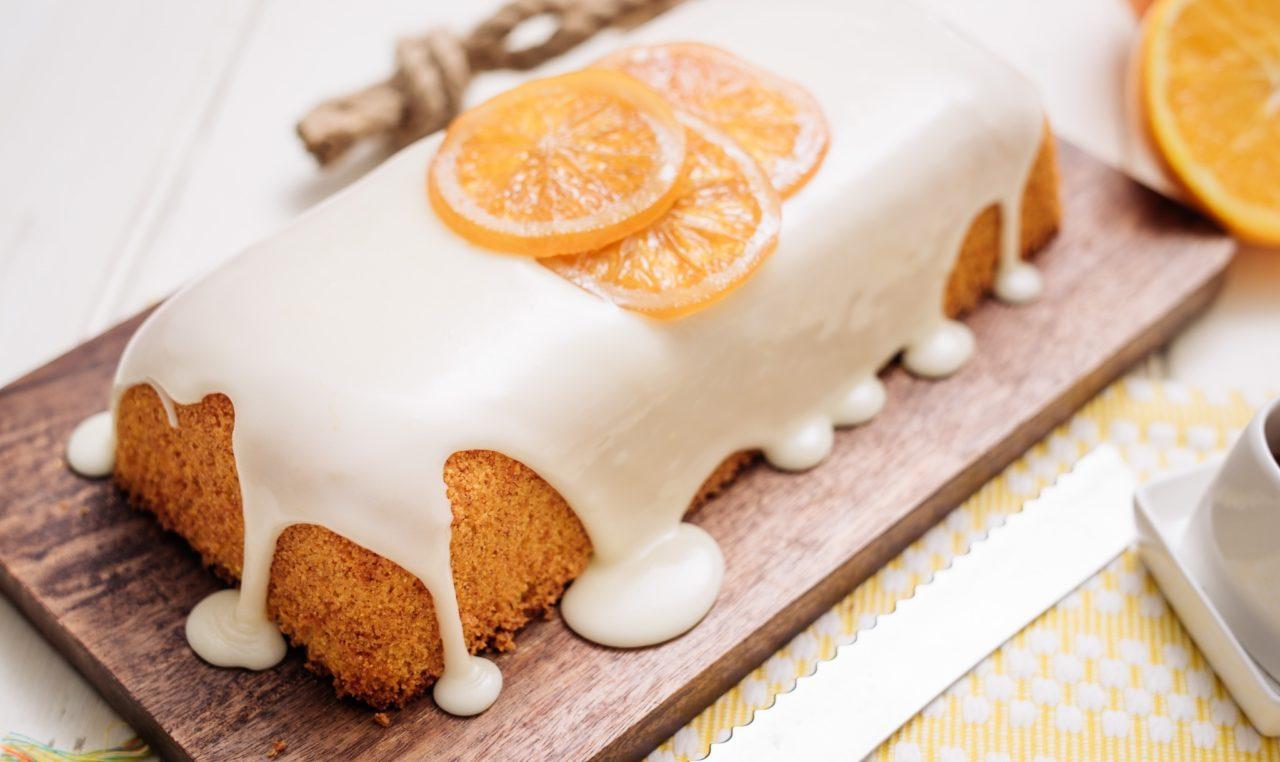 Глазурь для кекса белого цвета