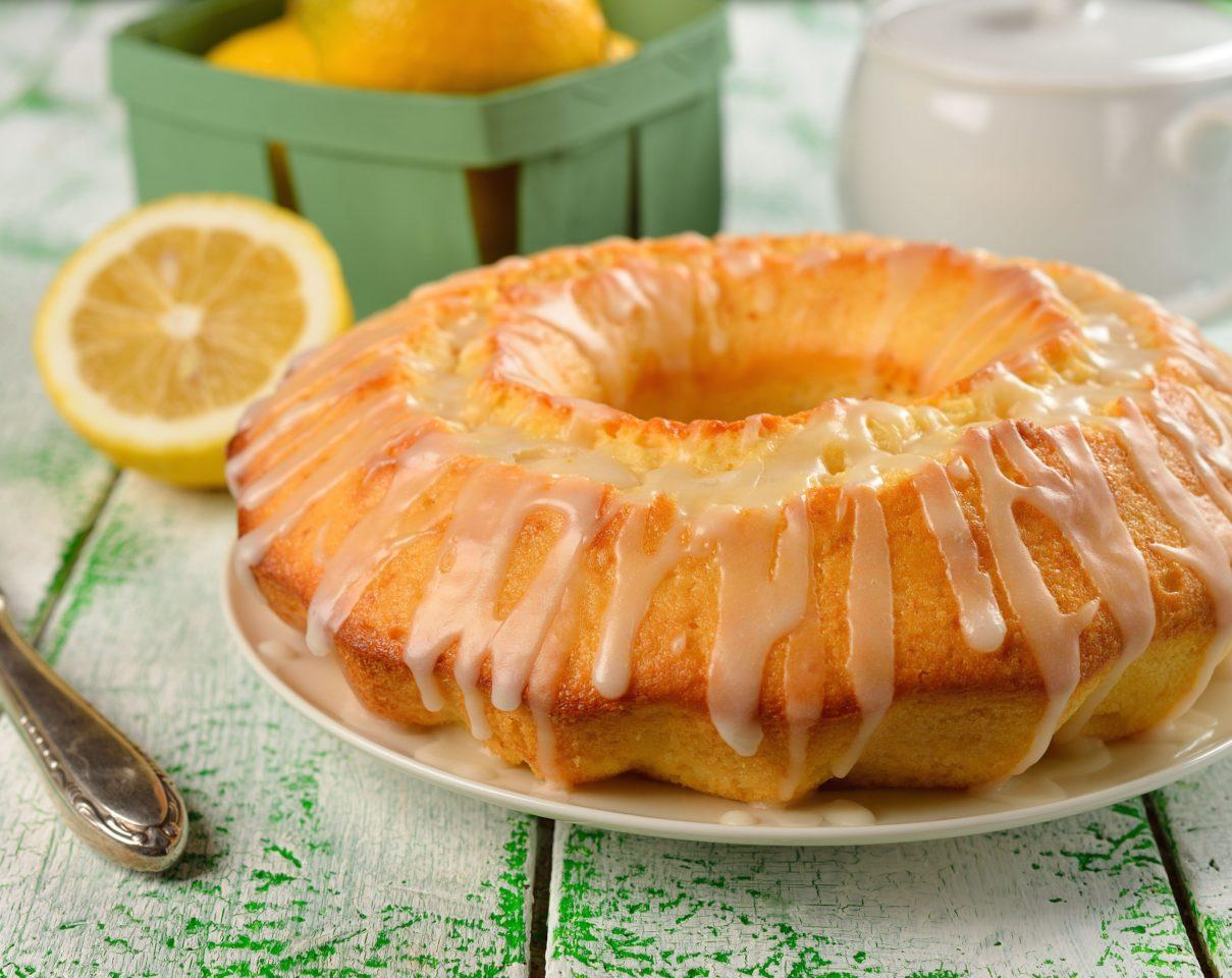 Глазурь лимонная