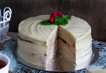 Торт Молочная девочка с пломбирным кремом