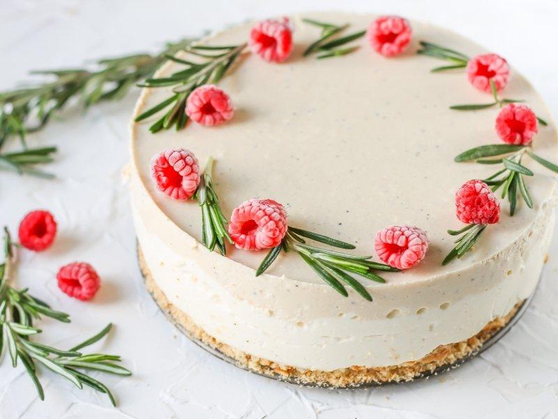 Торт из творога и желатина