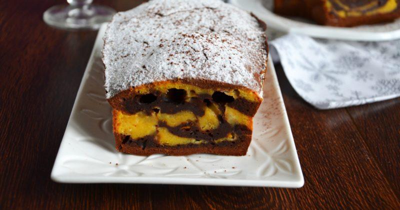Тыквенный кекс с шоколадным вкусом
