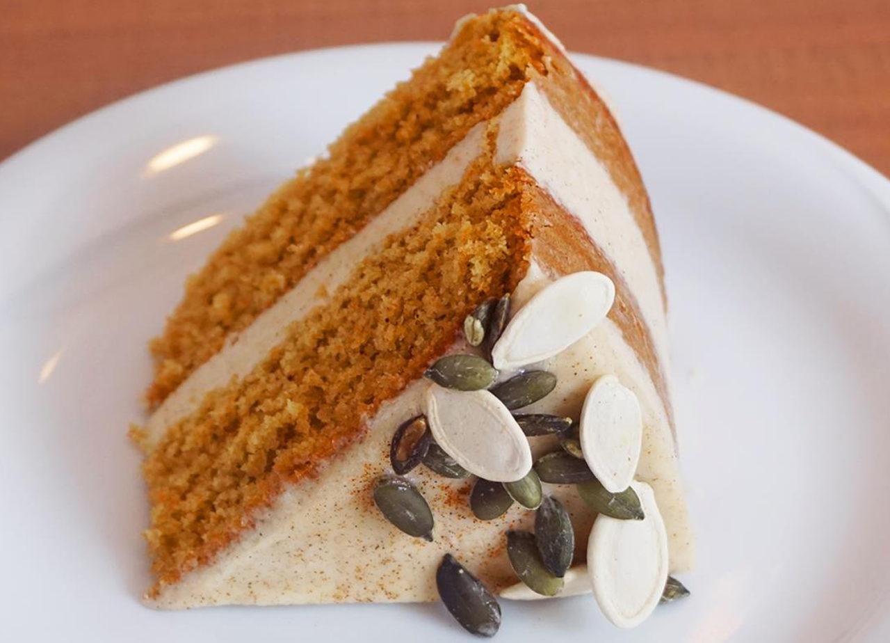 Торт со свежей тыквой от бабушки Эммы