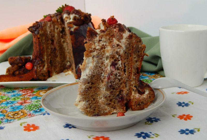 Пирог «Трухлявый пень»