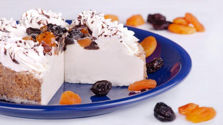 Творожный торт со сметаной