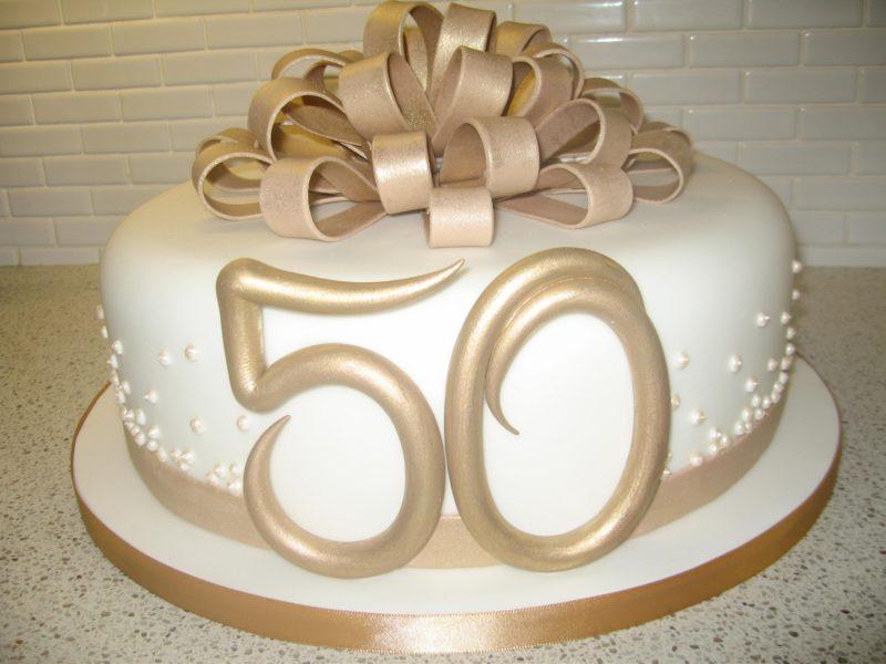 Торт для мамы в честь 50 лет