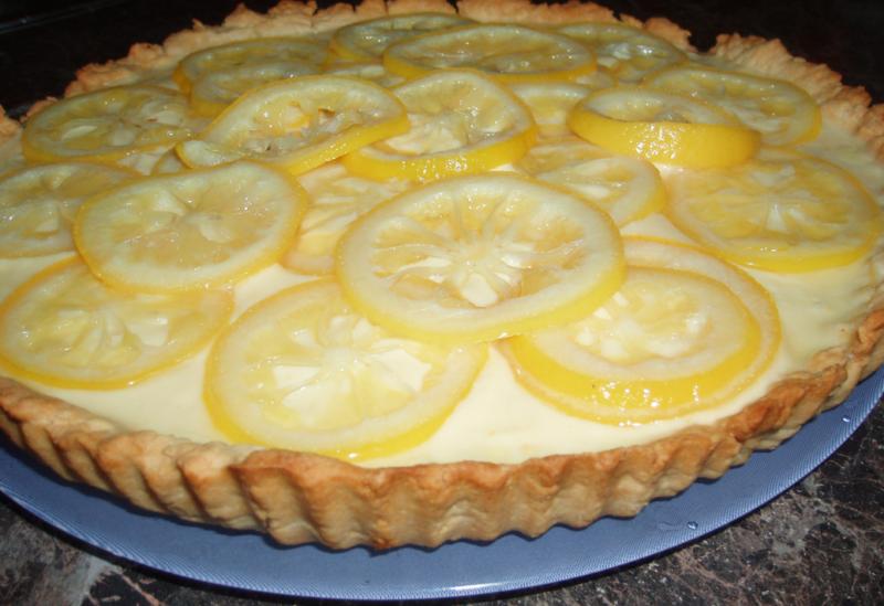 Лимонный пирог Юлии Высоцкой