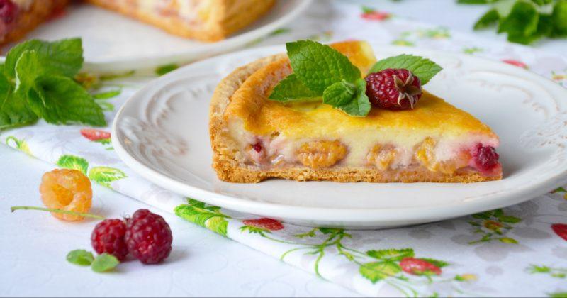Цветаевский малиновый пирог